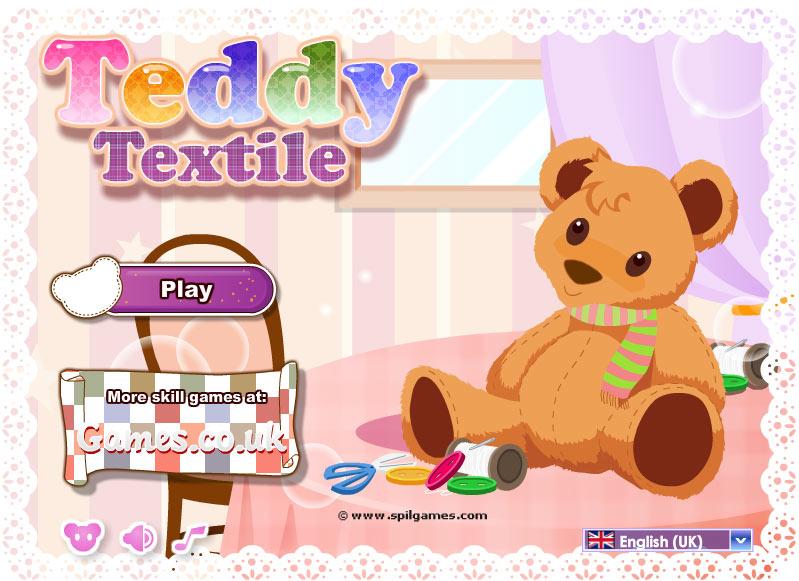 Игры для девочек шьем мягкую игрушку