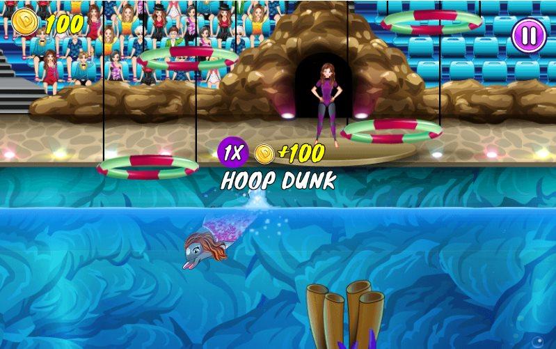Игры выступает дельфин 10 играть онлайн
