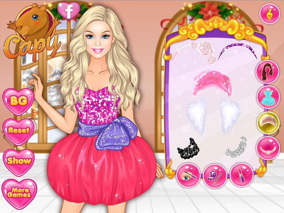 Игры для девочек одевалки барби с подругами