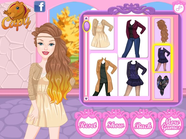 Игры для дизайн платьев