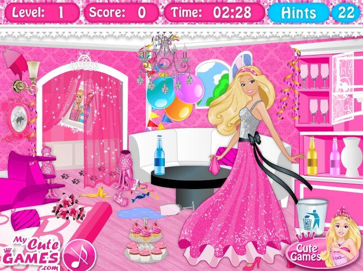 Барби игра дизайн дома