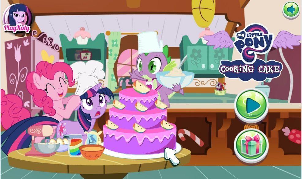 играть игры для девочек готовить торт