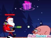 Дед Мороз собирает подарки