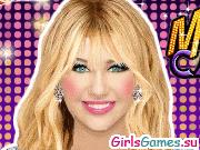 Игра новый макияж майли сайрус